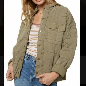 O'Neill Marble Quilted Jacket